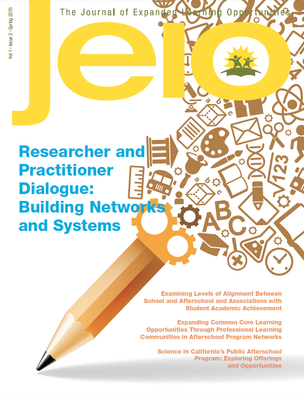 Check out our article Science in California's Public Afterschool Program: Exploring Offerings and Opportunities in JELO